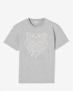 Šedé tričko s tygrem