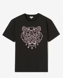 Černé tričko s tygrem