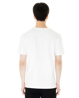 Biały t-shirt z z logo