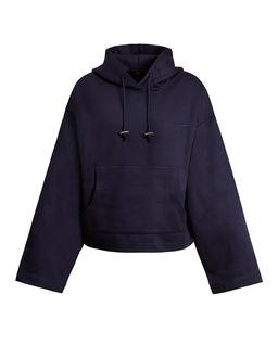 Granatowa bluza oversize