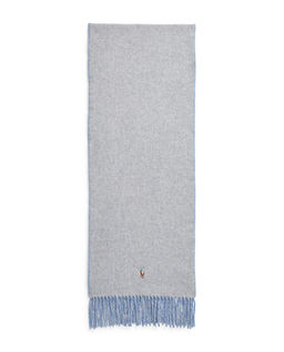 Dwustronny szalik z wełny