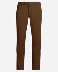 Brązowe spodnie Slim Fit