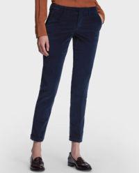 Granatowe spodnie chinosy