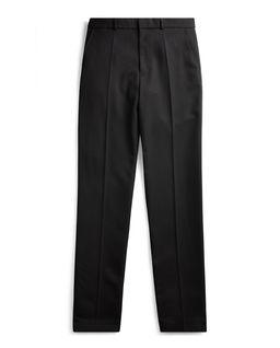 Czarne spodnie z wełny