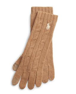 Rękawiczki z domieszką kaszmiru