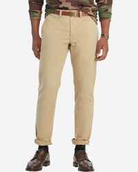 Beżowe spodnie chino