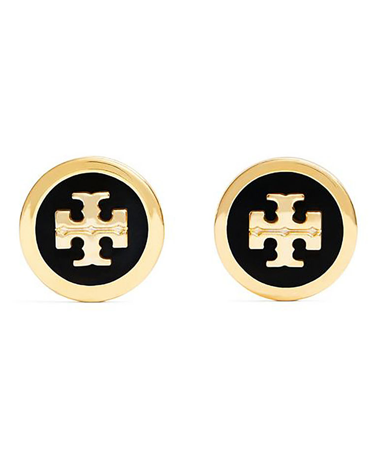 Kolczyki z logo