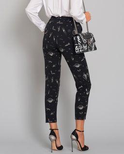 Spodnie z motywem kosmosu Bella 12