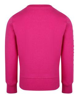 Różowa bluza z aplikacją 4-16 lat