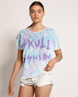 Pastelowa koszulka tie-dye