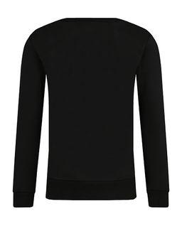 Czarna bluza z aplikacją 4-16 lat