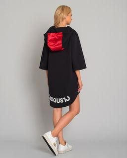 Czarna bluza z logo marki