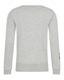 Szara bluza z aplikacją 4-16 lat