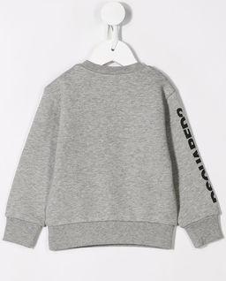 Szara bluza z pieskiem 0-3 lata