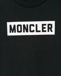 Czarna koszulka z logo 8-14 lat