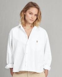 Biała koszula Boy Fit
