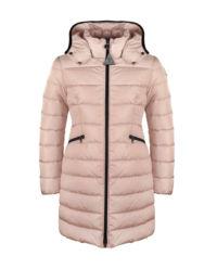 Różowa kurtka puchowa 4-10 lat