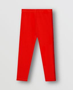 Czerwone legginsy 4-14 lat