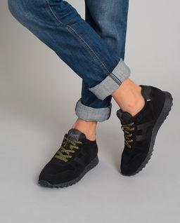 Sneakersy H383 czarne
