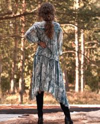 Sukienka w wężowy wzór Penelope