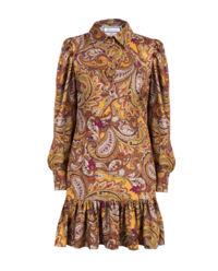 Sukienka z motywem roślinnym Lenny