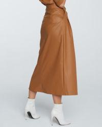 Skórzana spódnica z kieszeniami Nevada