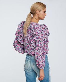 Koszula z falbanami Flori