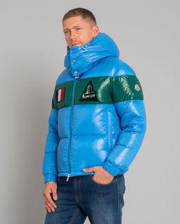 Niebieska kurtka puchowa Gary