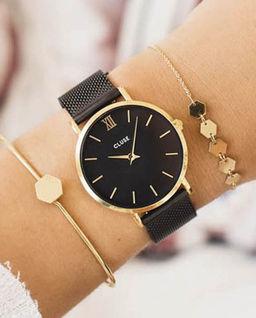 Zegarek Minuit Gold Black/Black