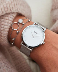 Zegarek Minuit Full Silver