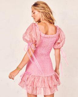 Różowa sukienka Violet
