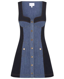 Jeansowa sukienka Electric Memories