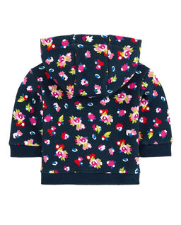 Bluza z wielokolorowym kapturem 0-4 lata
