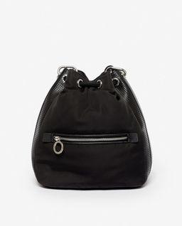 Czarna torebka bucket Kombo