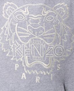 Szara bluza z tygrysem