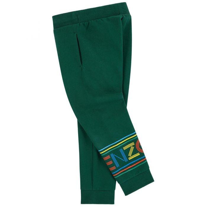 Zielone spodnie dresowe 3-12 lat