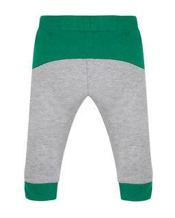 Dwukolorowe spodnie dresowe 0-4 lata