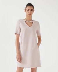 Sukienka mini z kieszeniami