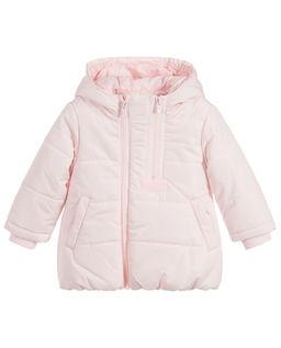 Różowa kurtka puchowa 0-4 lata