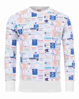 Bluza z nadrukiem Archive Label