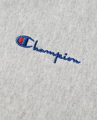 Szara bluza z logo