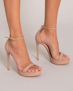 Sandały na obcasie Cindy