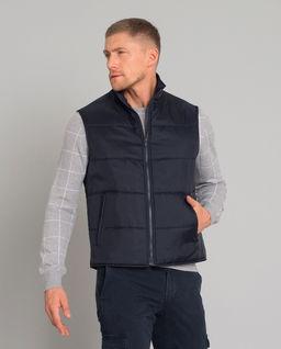 Granatowy dwuczęściowy płaszcz