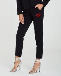 Czarne spodnie Malila