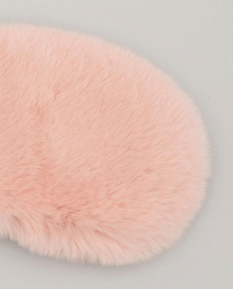 Różowa opaska na oczy