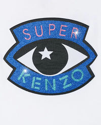 Biała koszulka Super Kenzo 8-14 lat