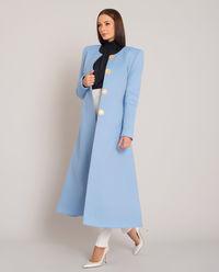 Elegancki płaszcz z napami Blumi