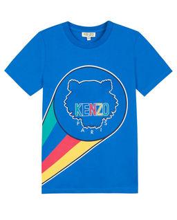 Niebieska koszulka 3-14 lat