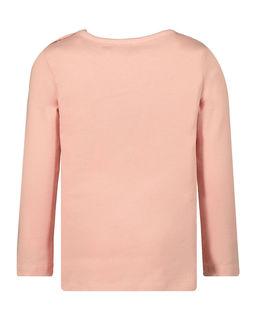 Różowa koszulka z nadrukiem 0-4 lata