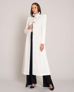 Elegancki płaszcz z wełny Tilda